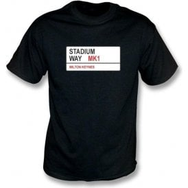 Stadium Way MK1 T-Shirt (MK Dons)