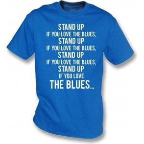 Stand Up If You Love The Blues (Everton) T-Shirt