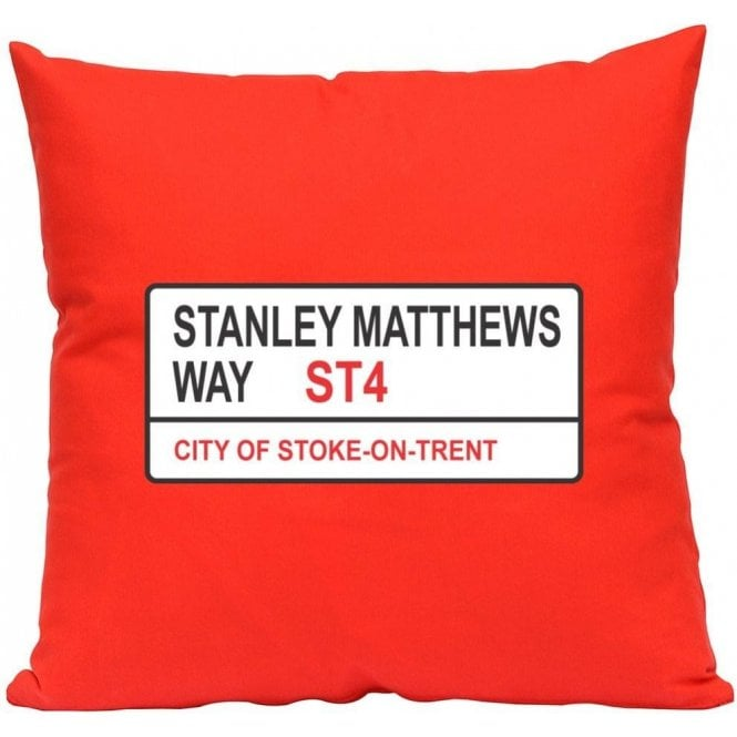 Stanley Matthews Way ST4 (Stoke City) Cushion