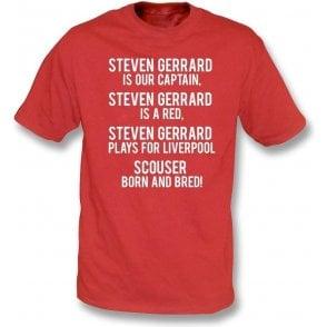 Steven Gerrard Is A Red (Liverpool) T-Shirt