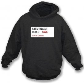 Stevenage Road SW6 Hooded Sweatshirt (Fulham)