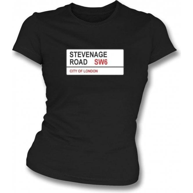 Stevenage Road SW6 Women's Slimfit T-Shirt (Fulham)