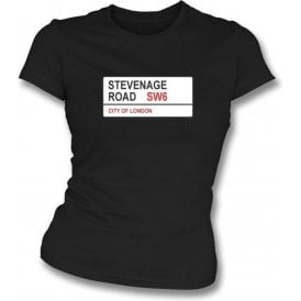 Stevenage Road SW6 Women's Slimfit T-Shirt (Fulham)