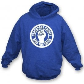 Stockport Keep the Faith Hooded Sweatshirt