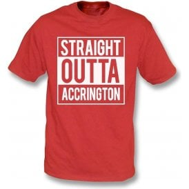 Straight Outta Accrington Kids T-Shirt
