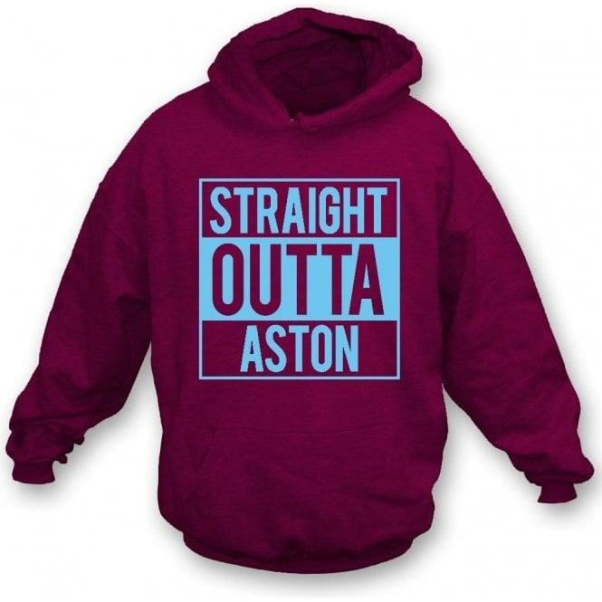 Straight Outta Aston (Villa) Hooded Sweatshirt