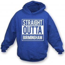 Straight Outta Birmingham Kids Hooded Sweatshirt