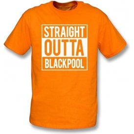 Straight Outta Blackpool Kids T-Shirt