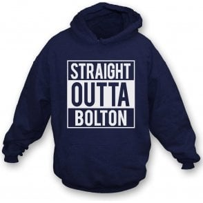 Straight Outta Bolton Kids Hooded Sweatshirt