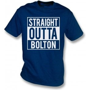 Straight Outta Bolton Kids T-Shirt