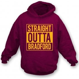 Straight Outta Bradford Kids Hooded Sweatshirt