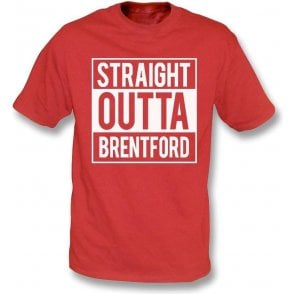 Straight Outta Brentford Kids T-Shirt