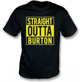 Straight Outta Burton Kids T-Shirt