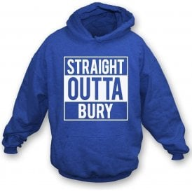 Straight Outta Bury Kids Hooded Sweatshirt