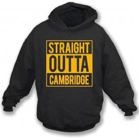 Straight Outta Cambridge Kids Hooded Sweatshirt