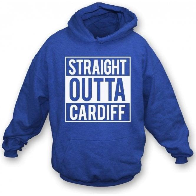Straight Outta Cardiff Kids Hooded Sweatshirt