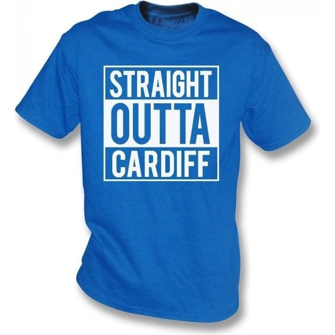 Straight Outta Cardiff Kids T-Shirt