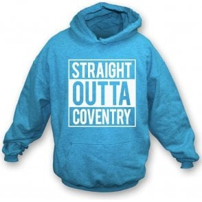 Straight Outta Coventry Kids Hooded Sweatshirt