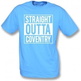 Straight Outta Coventry Kids T-Shirt
