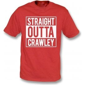 Straight Outta Crawley Kids T-Shirt