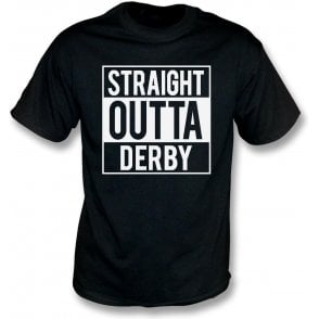 Straight Outta Derby Kids T-Shirt