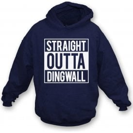 Straight Outta Dingwall (Ross County) Kids Hooded Sweatshirt