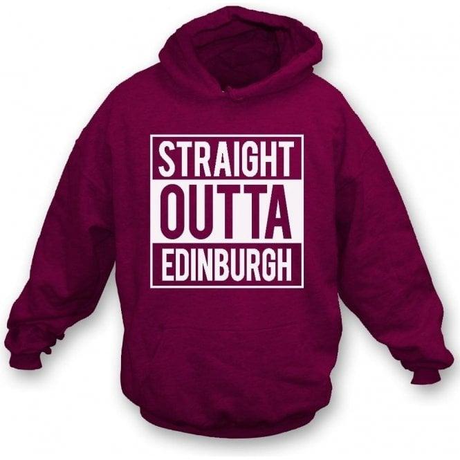 Straight Outta Edinburgh (Hearts) Hooded Sweatshirt