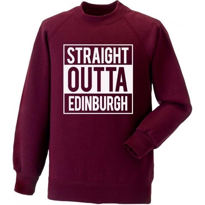 Straight Outta Edinburgh (Hearts) Sweatshirt