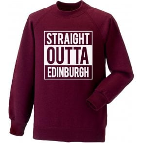 Straight Outta Edinburgh (Hearts) Sweatshirt
