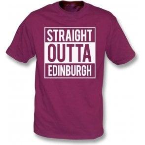 Straight Outta Edinburgh (Hearts) T-Shirt