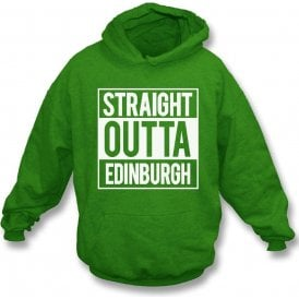 Straight Outta Edinburgh (Hibernian) Kids Hooded Sweatshirt