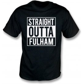 Straight Outta Fulham Kids T-Shirt