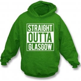 Straight Outta Glasgow (Celtic) Kids Hooded Sweatshirt