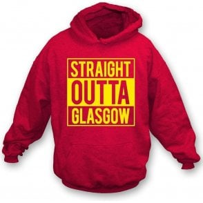 Straight Outta Glasgow (Partick Thistle) Kids Hooded Sweatshirt