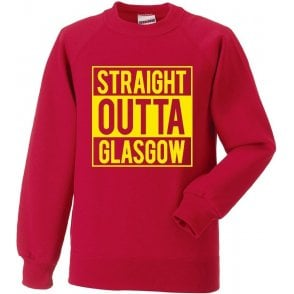 Straight Outta Glasgow (Partick Thistle) Sweatshirt