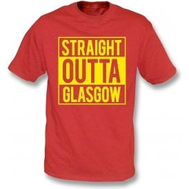 Straight Outta Glasgow (Partick Thistle) T-Shirt