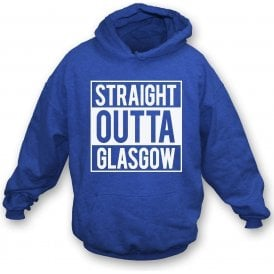 Straight Outta Glasgow (Rangers) Kids Hooded Sweatshirt