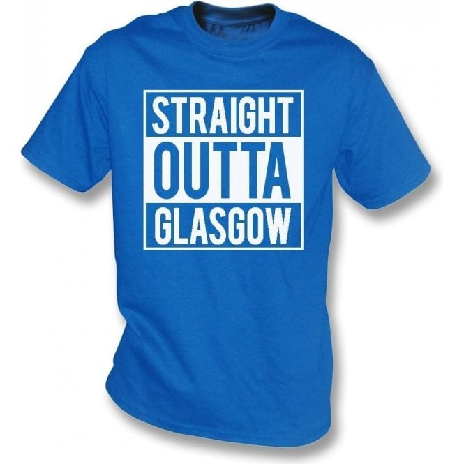 Straight Outta Glasgow (Rangers) T-Shirt