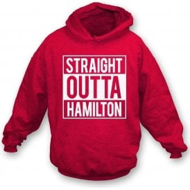 Straight Outta Hamilton Kids Hooded Sweatshirt