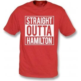 Straight Outta Hamilton Kids T-Shirt