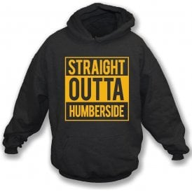 Straight Outta Humberside (Hull City) Kids Hooded Sweatshirt