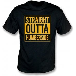 Straight Outta Humberside (Hull City) Kids T-Shirt