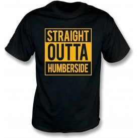 Straight Outta Humberside (Hull City) T-Shirt