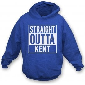 Straight Outta Kent (Gillingham) Kids Hooded Sweatshirt