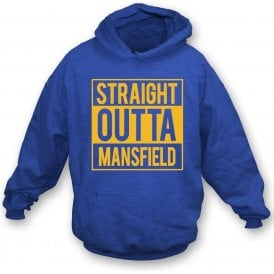 Straight Outta Mansfield Kids Hooded Sweatshirt