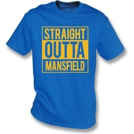Straight Outta Mansfield Kids T-Shirt
