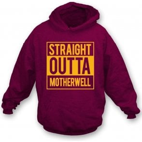 Straight Outta Motherwell Kids Hooded Sweatshirt