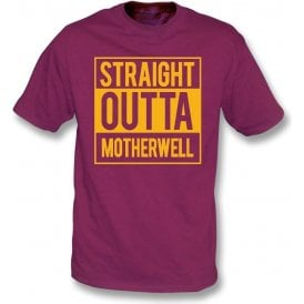 Straight Outta Motherwell Kids T-Shirt