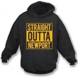 Straight Outta Newport Kids Hooded Sweatshirt
