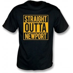 Straight Outta Newport Kids T-Shirt